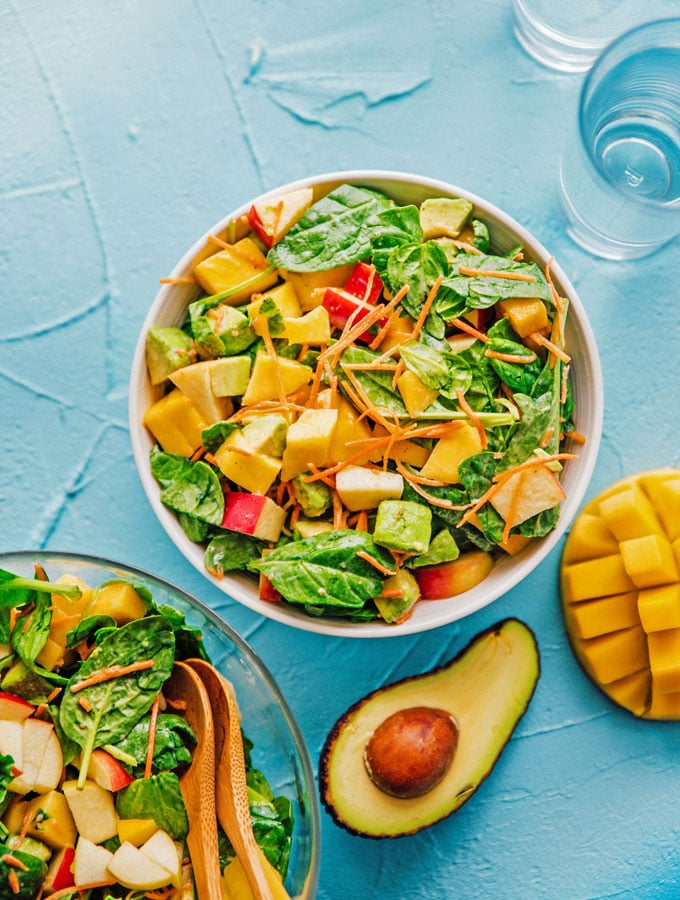 4. Avocado Mango Salad