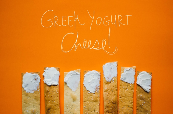 Greek Yogurt Cheese spread