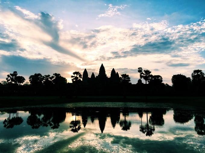Travel in Cambodia Angkor Wat