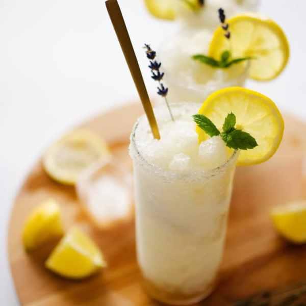 Lavender Lemonade Slushy