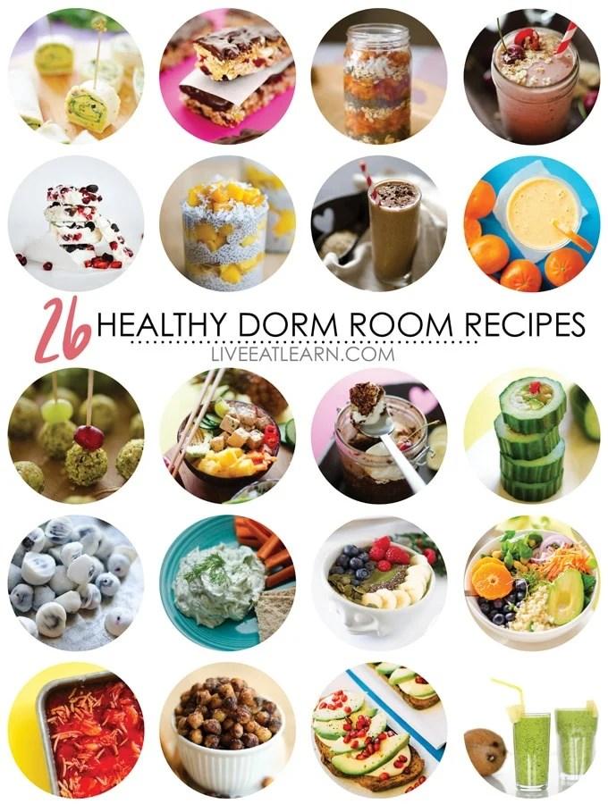 Simple Dorm Room Recipes