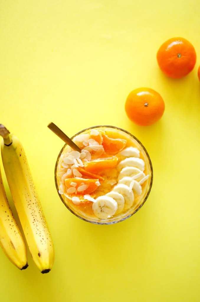 Almond Orange Smoothie Bowl
