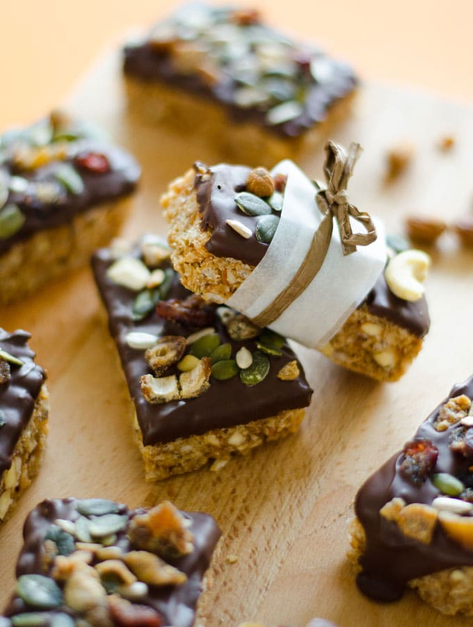 Inside-Out Granola Bars