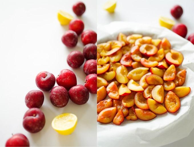 Plum Fruit Roll-Ups