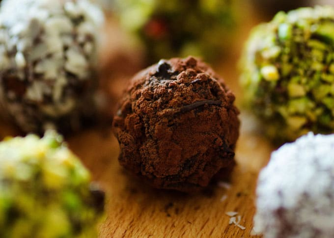 Chocolate Mashed Potato Truffles