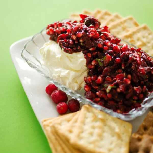 Savory Cranberry Salsa