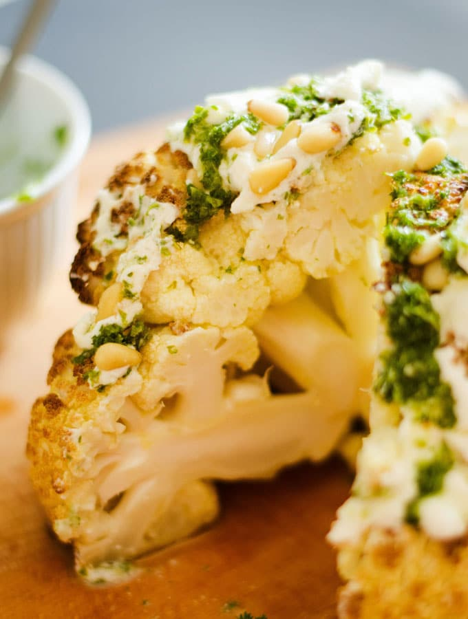 Ultimate Whole Roasted Cauliflower