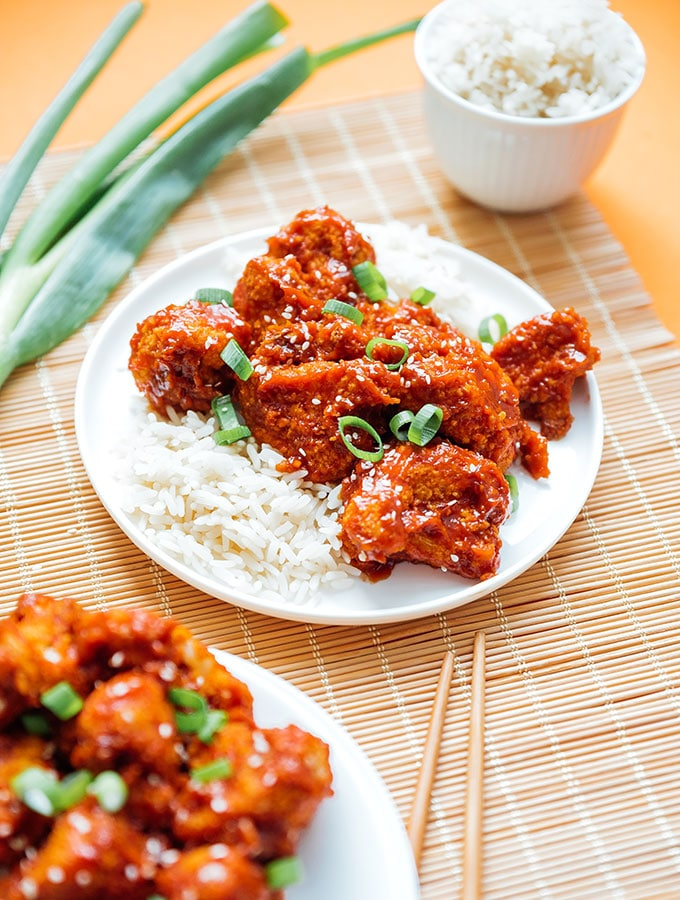 9. Baked General Tso's Cauliflower