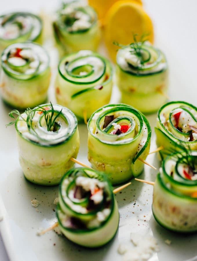 Greek Salad Sushi