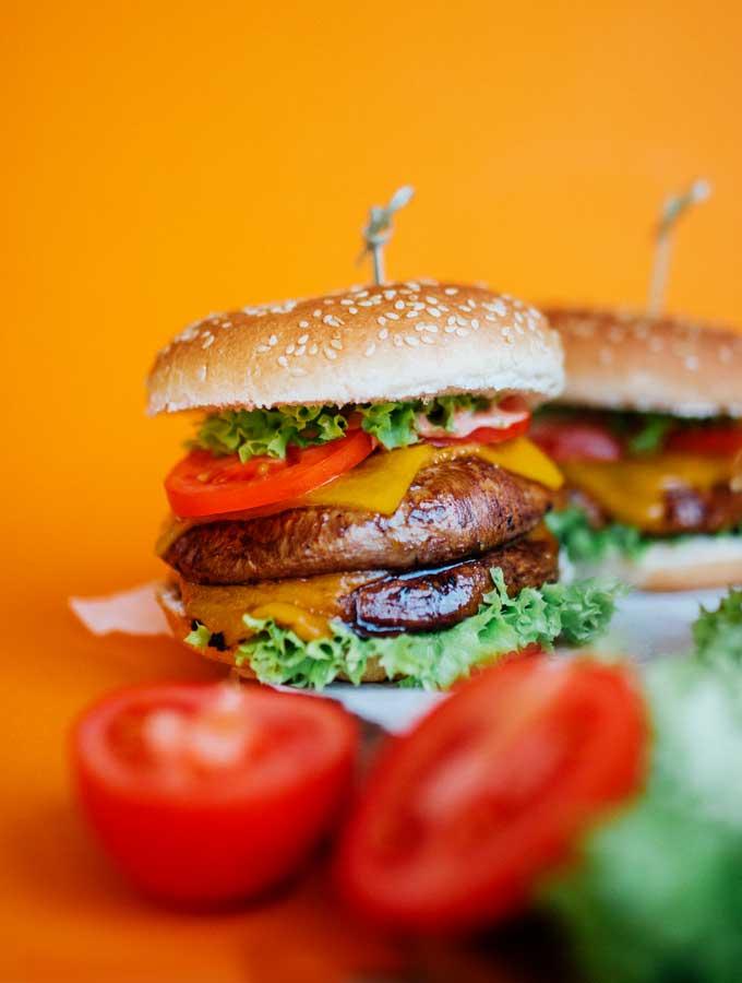 1. Portobello Mushroom Burgers