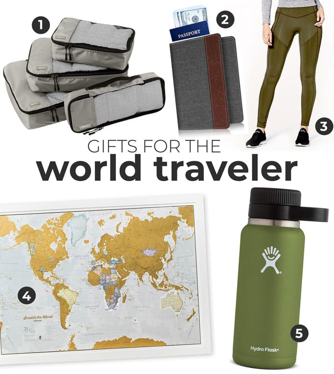 Gift ideas for world travelers