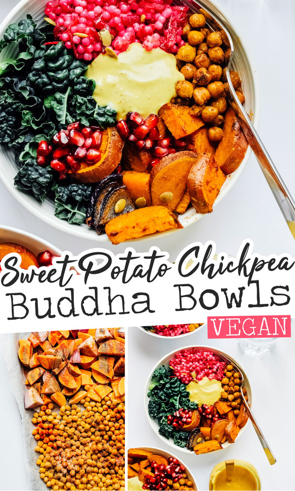 For an easy vegan dinner, this Roasted Vegetable Buddha Bowls recipe does the trick, packed with delicious flavor and drizzled with creamy, high protein Yum Sauce! It's a healthy vegetarian dinner idea that is great on the go and perfect for the whole family. #easyrecipes #vegetarianrecipes #veganrecipes #buddhabowls #grainbowls #vegetablebowls #easydinners #easylunches #healthyrecipes