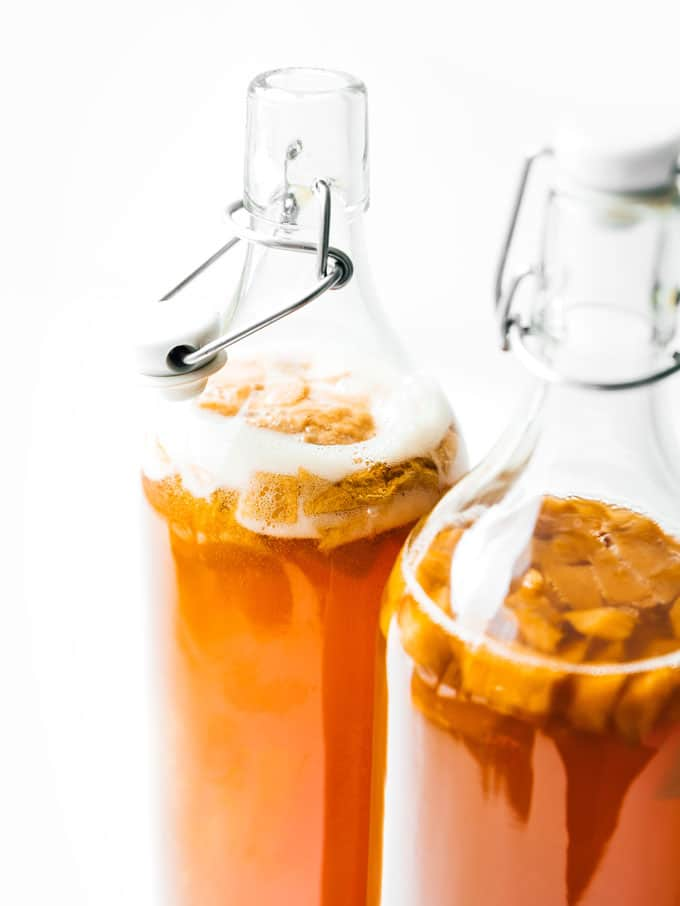 2. Peach Pie Kombucha