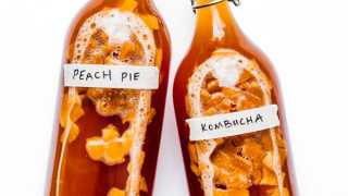 Peach Pie Kombucha