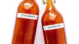 Strawberry Kombucha