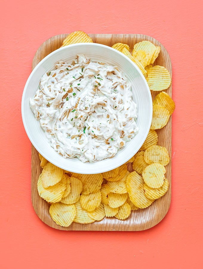 How To Make Healthy French Onion Dip Live Eat Learn