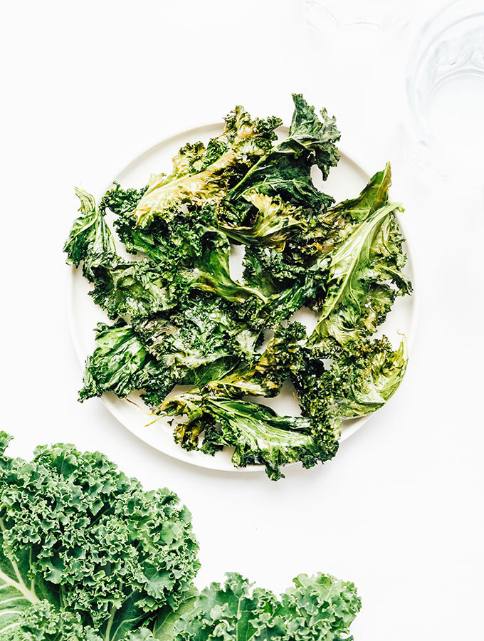 7. Air Fryer Kale Chips