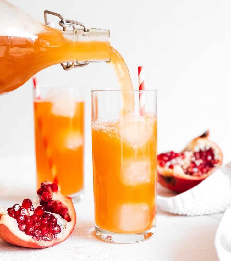 18. Pomegranate Kombucha