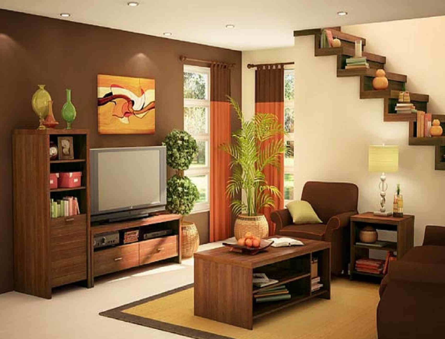 Attractive Interior Designs For Small Houses In the ... on House Interior Ideas  id=51531