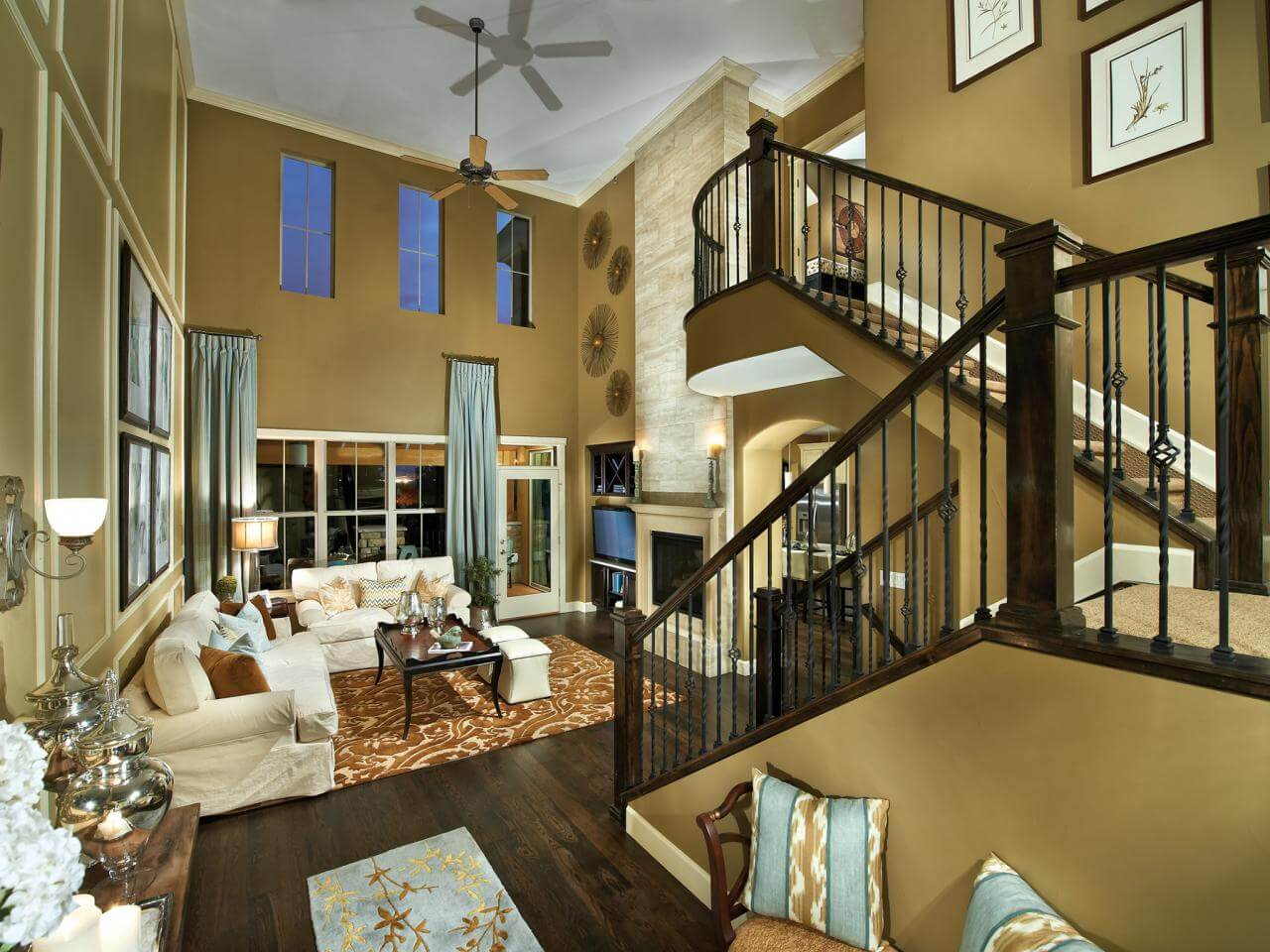 Attractive Interior Designs For Small Houses In the ... on House Interior Ideas  id=13822