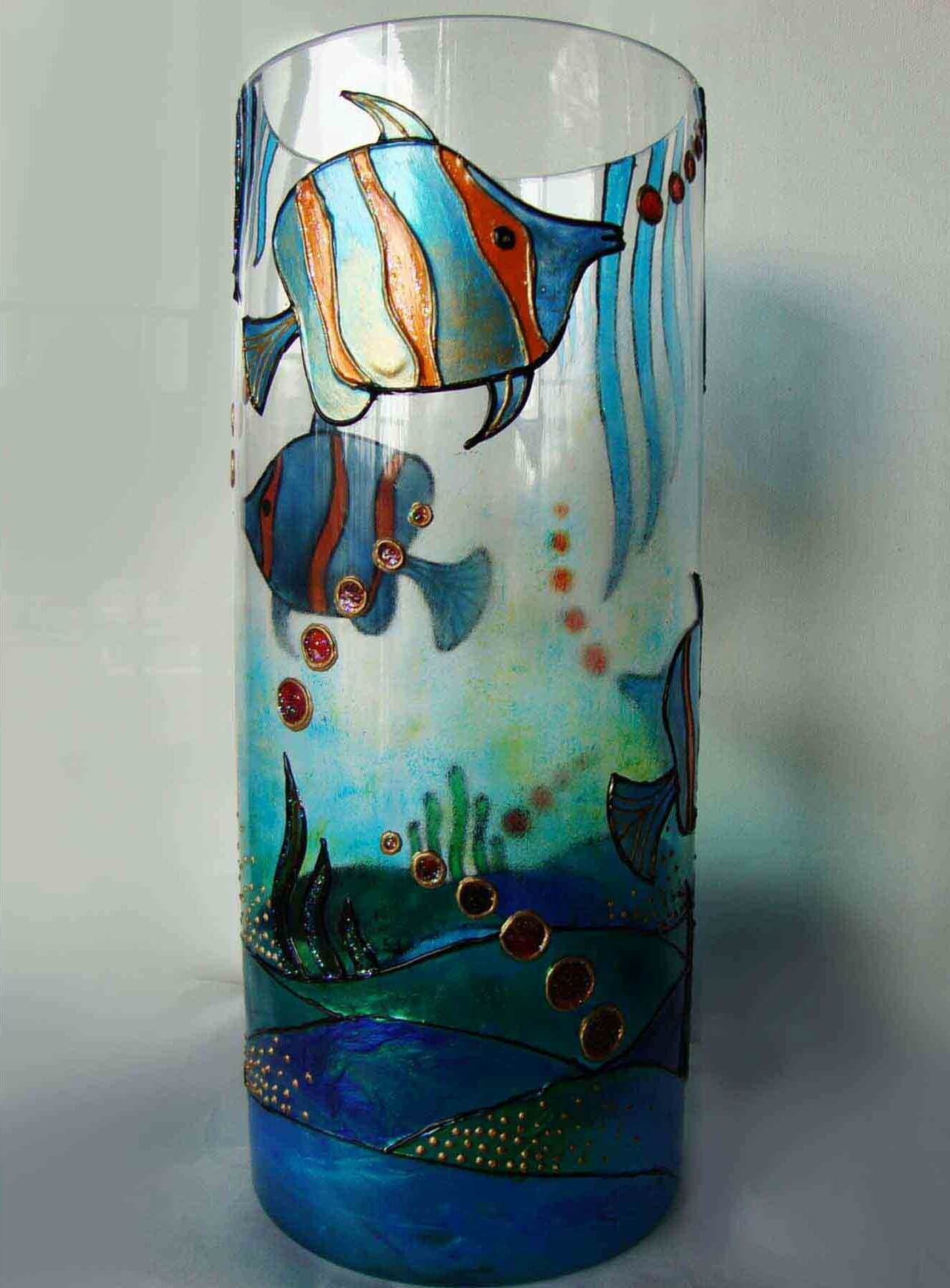 25 Glass Painting Craft Ideas To Enhance Your Glass