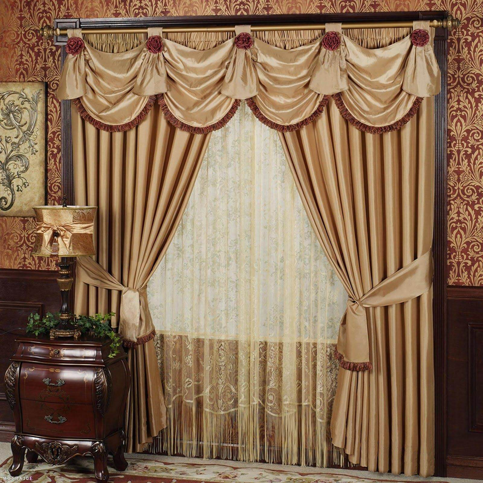 22 Picturesque Curtains and Drape Ideas To Enhance Your ... on Draping Curtains Ideas  id=18497