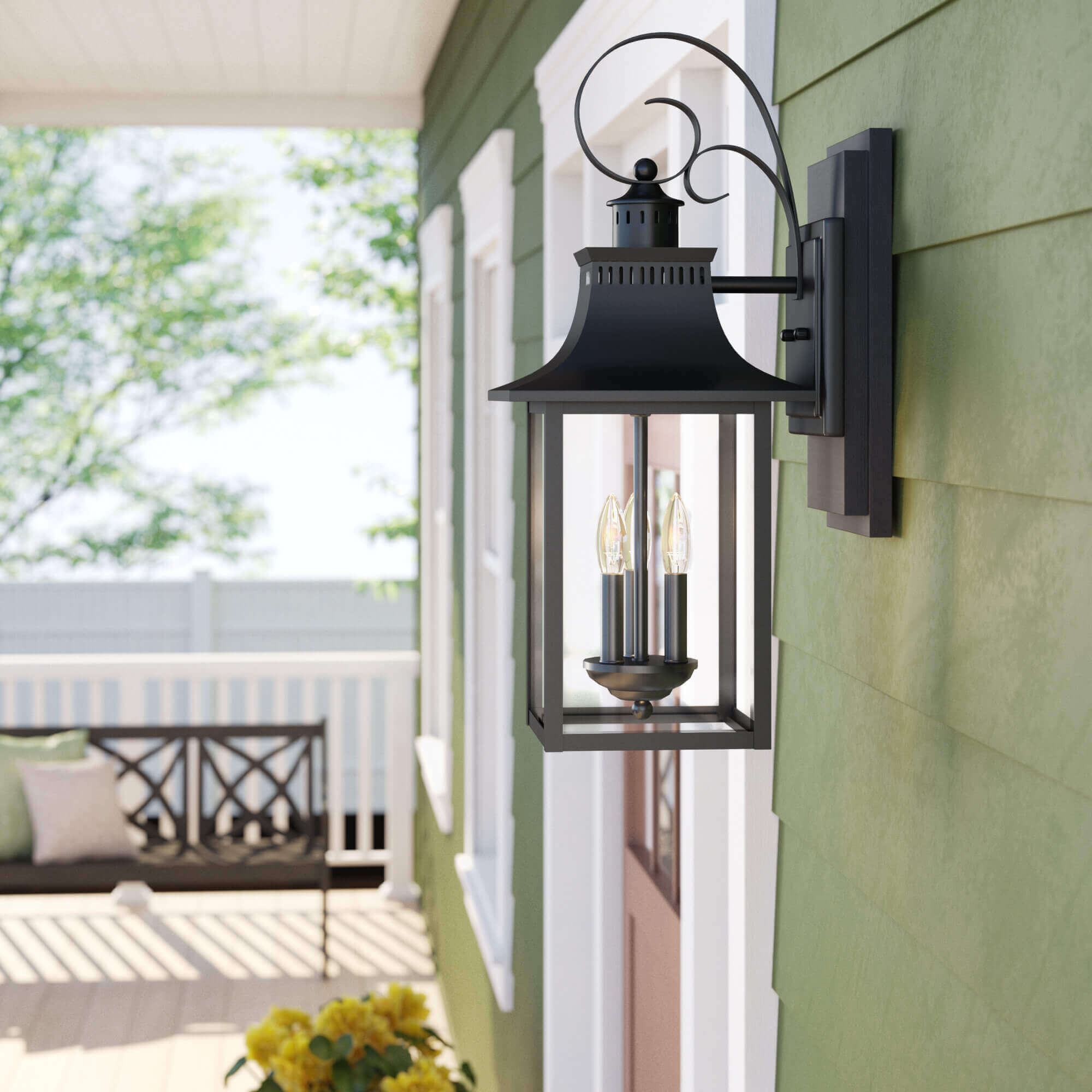 mesmerizing outdoor wall lights and