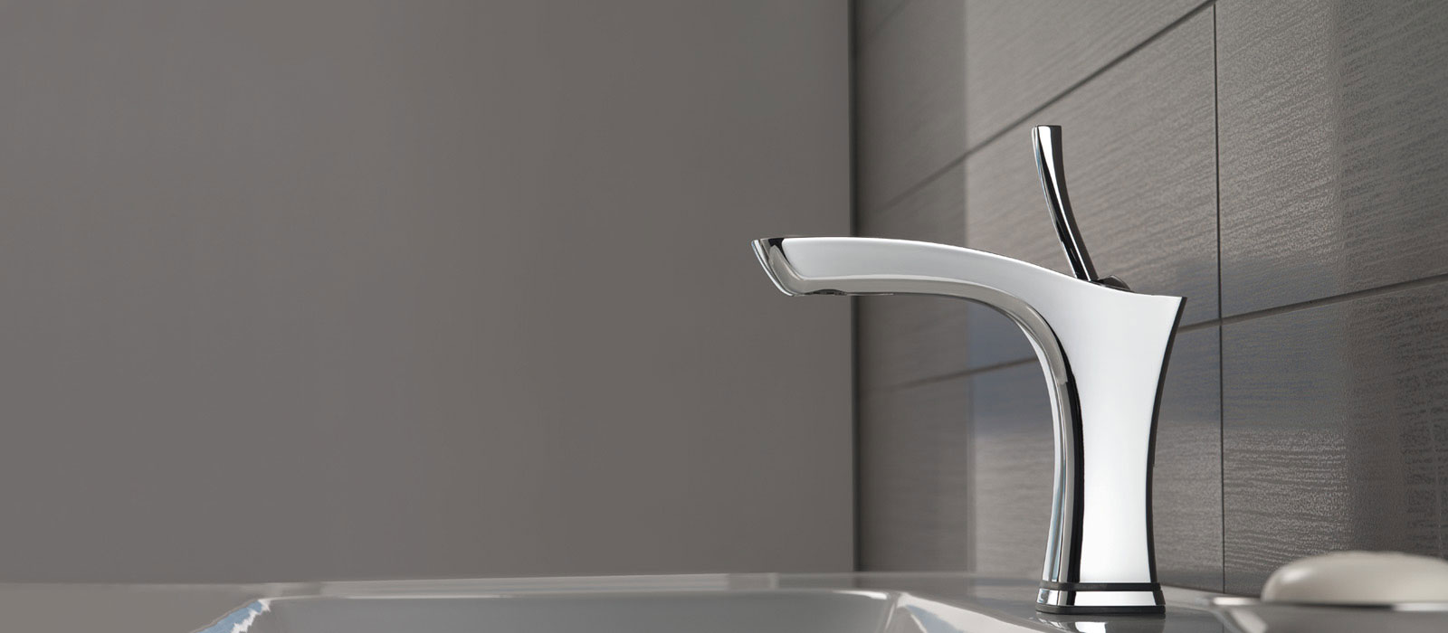touch feature on a delta faucet