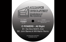 "Listen to C Powers Track ""All Right""."