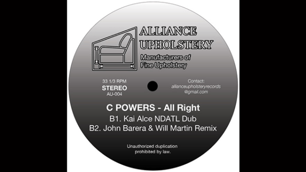 """Listen to C Powers Track """"All Right""""."""