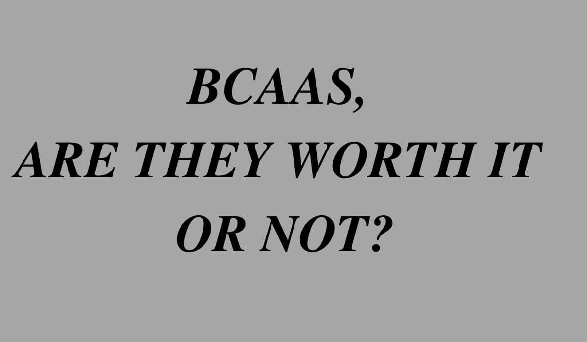 are bcaa worth it