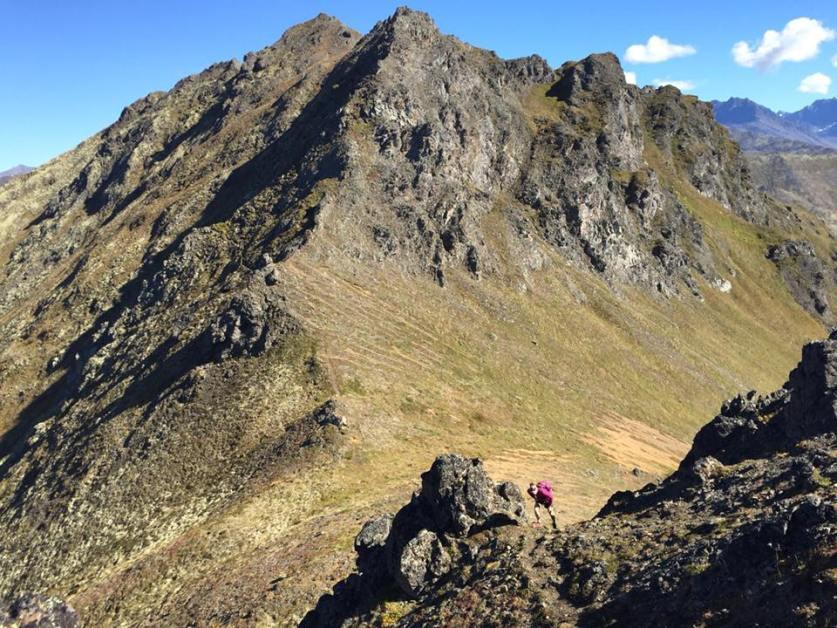 Mt. Magnificent, Front Range of the Chugach, AK