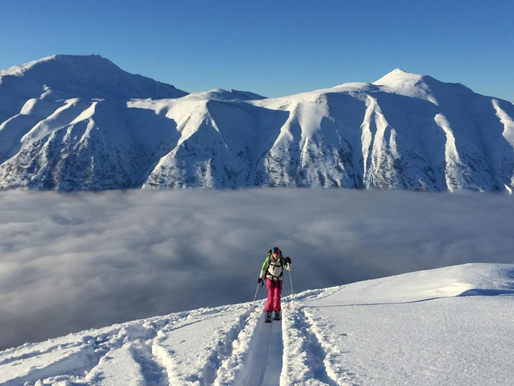 Backcountry skiing, Cornbiscuit, Turnagain Pass, AK