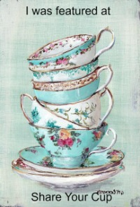 Share your Cup Blog Party feature