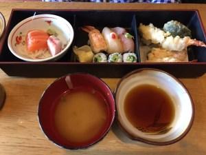 Sushi Taro - Bento box with sushi