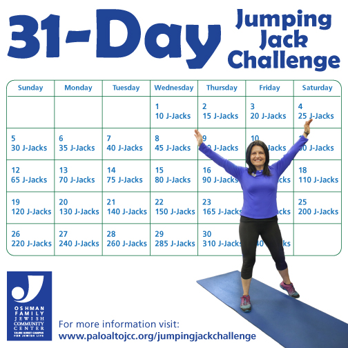 Push it 30Day Jumping Jack Challenge Live Fully Blog