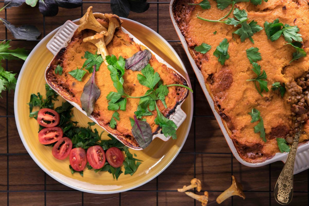 recipe- vegan shepherd's pie