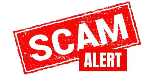 Scam Alert/Fraud Alert - FCP Live-In
