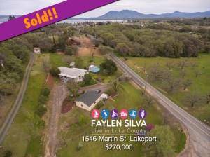 Home in Lakeport, CA Sold by Faylen Silva Realtor