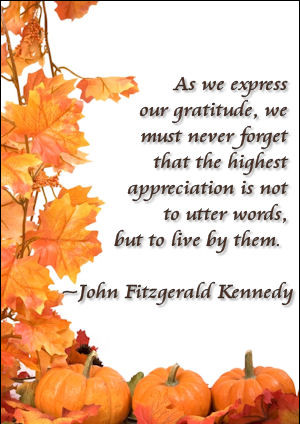 25 Thanksgiving Gratitude Quotes Live Intentionally