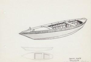 Laguna 1 605 Laguna veneta - sampierota - sandalo di S.Piero e Pellestrina