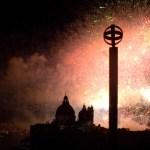 La magia dei fuochi, così Venezia celebra il Redentore