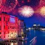 Fuochi a San Marco per salutare il 2017