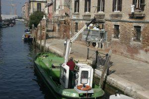 porta a porta Live in Venice