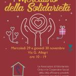 Prima a Mestre poi a Venezia tornano i mercatini della solidarietà