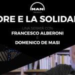 UNA SERATA CON FRANCESCO ALBERONI E DOMENICO DE MASI