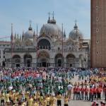 Mille bambini a San Marco per dire di rispettare Venezia