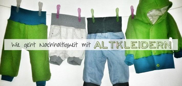 Altkleider und Nachhaltigkeit: Einfaches Upcycling Projekt-aus Alt mach Neu