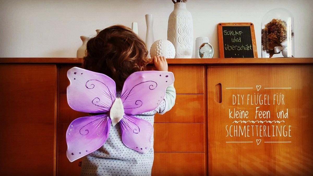 DIY - Upcycling-Flügel für kleine Feen und Schmetterlinge