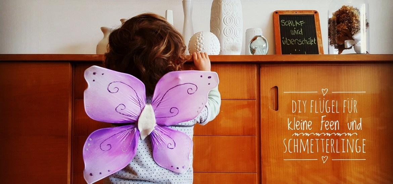Diy Upcycling Flugel Fur Kleine Feen Und Schmetterlinge